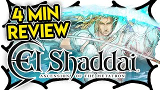 4 MIN REVIEW - El Shaddai ASCENSION OF THE METATRON (Video Game Video Review)