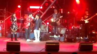 Jovit's Concert at Aliw Theater - Jovit with Melason