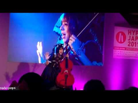 Kanon Wakeshima Live at Hyper Japan London 2011