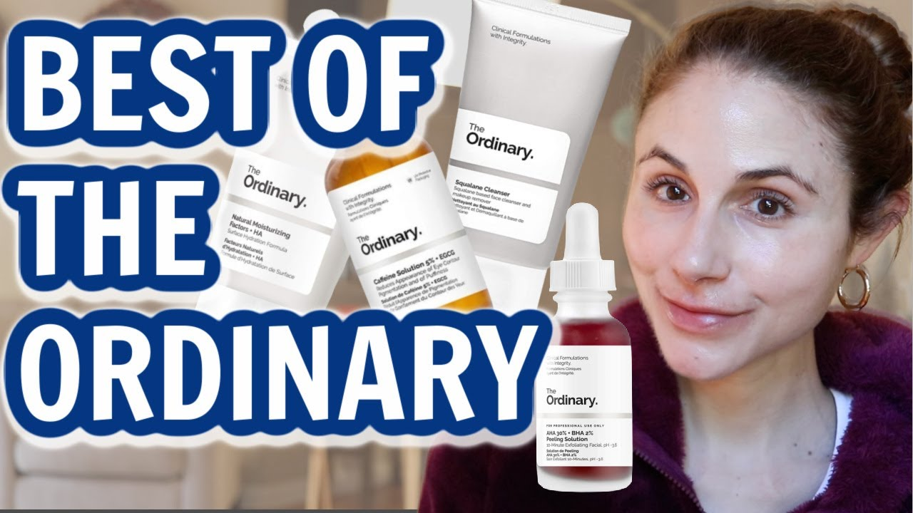 Download The 10 BEST SKIN CARE PRODUCTS FROM THE ORDINARY  DR DRAY