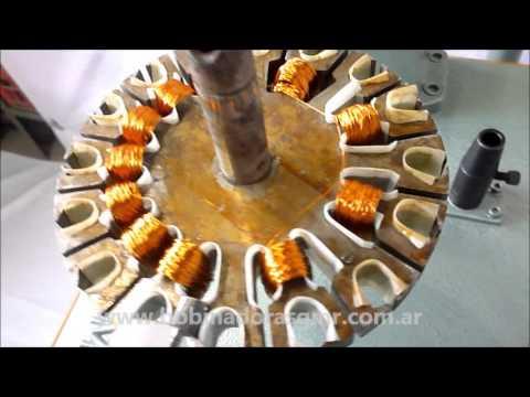 Bobinadora g m r modelo v motores de ventilador de techo youtube - Motores de ventiladores de techo ...