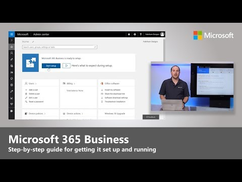 Microsoft 365 Business: Step-by-step guide for enabling services and first run experience