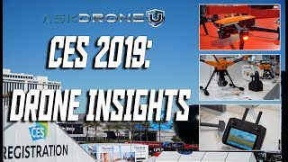 CES 2019: Drone Insights, Yuneec H520 RTK, Autel Evo, Waterproof Spry Drone