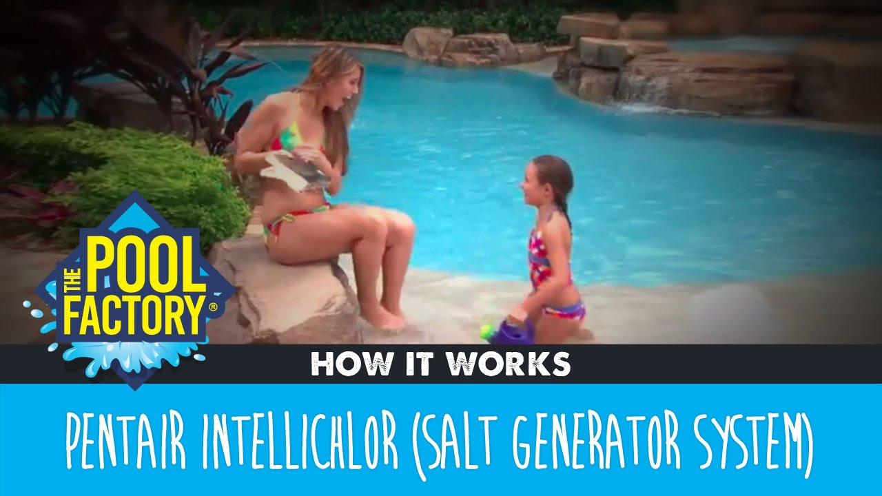 Salt or chlorine pool - Pentair Intellichlor Salt Chlorine Generator System How It Works