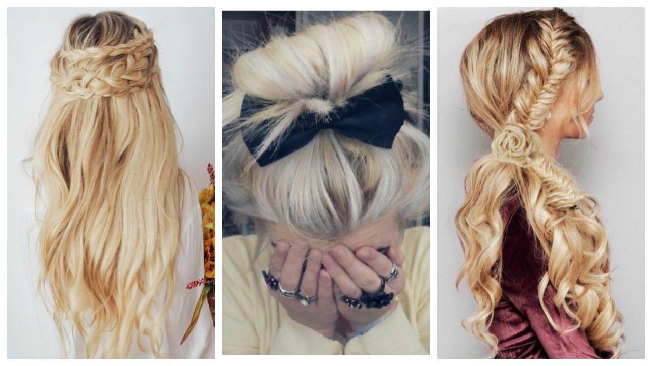 3 peinados bonitos y sencillos para navidad o fiesta - Peinados fiesta faciles ...