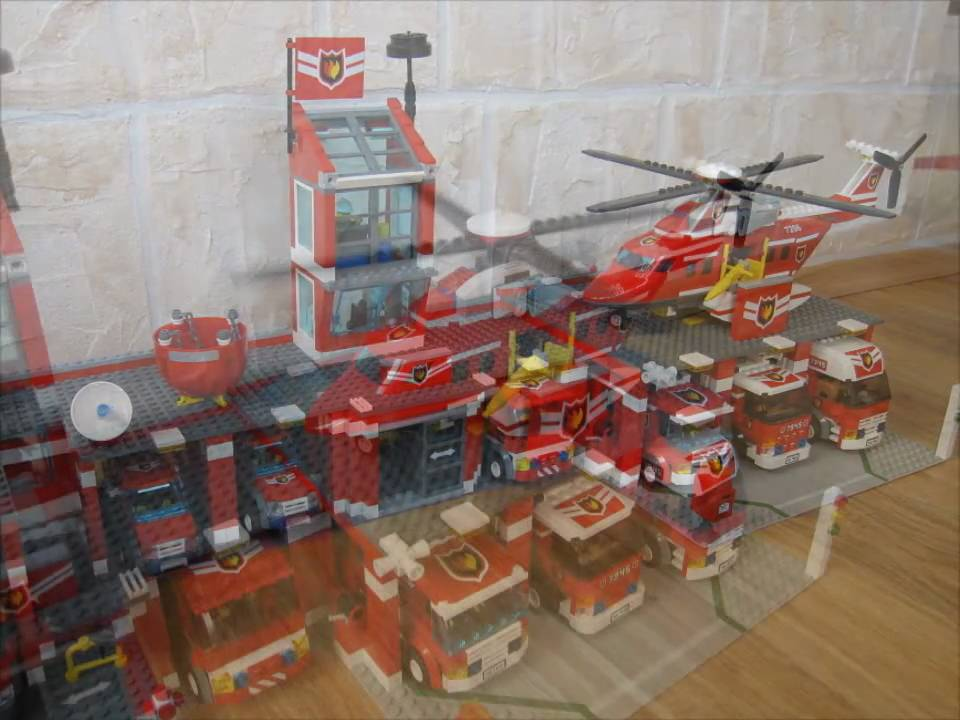 feuerwehrstation lego