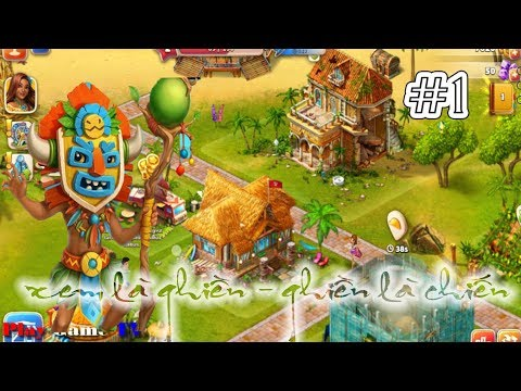 Hack Game Paradise Island 2 For IOS & Android - Miễn Phí COINS AND CRYSTALS #Part 1