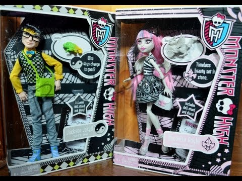 Monster High Rochelle Goyle and Basic Jackson Jekyll Doll Review