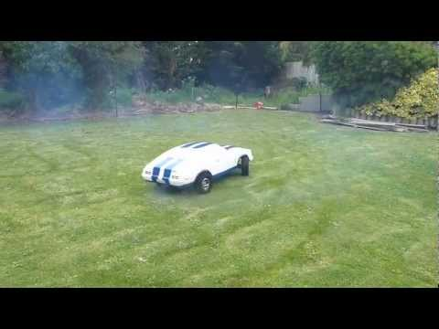 ford xc cobra coupe 1 3 scale rc car first run youtube. Black Bedroom Furniture Sets. Home Design Ideas