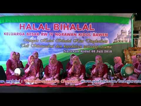 Bismillah - Group Rebana Al Barokah Ngrawan Kidul - Halal Bihalal 1439 H