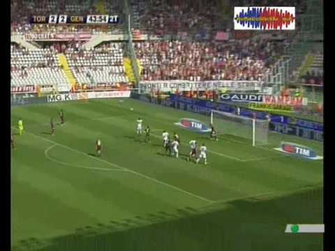 Genoa - Diego Milito gol stagione 2008/2009