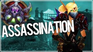 BURSTING IN ARENAS - Assassination Rogue PvP WoW Legion 7.1.5