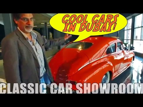 Cool Classics in Dubai at Nostalgia Cars Showroom