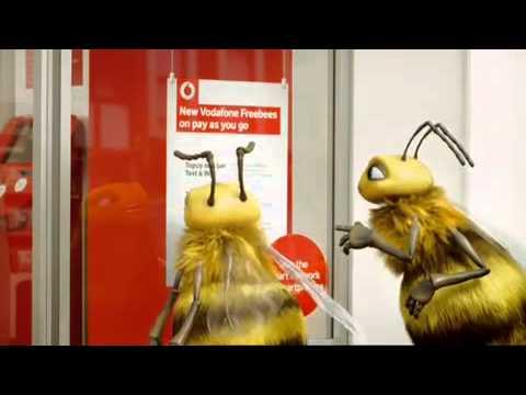 Vodafone Freebees PAYg ADVERT
