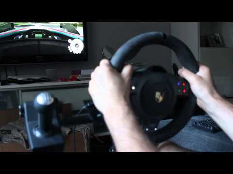 dirt3 play with fanatec prosche 911 gt2 wheel doovi. Black Bedroom Furniture Sets. Home Design Ideas