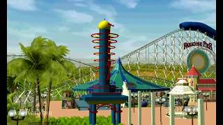 Paradise Pier Recreation Project RCT3 - Rexar4living