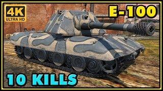 World of Tanks | E-100 - 10 Kills - 10,3K Damage Gameplay
