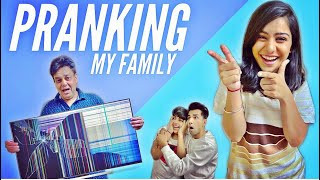 PRANKING MY FAMILY FOR 24 HOURS | Rimorav Vlogs