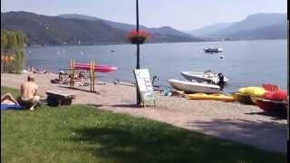 Lago Maggiore - Lido di Maccagno (Varese): spiaggia e acqua al top