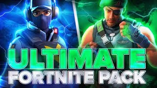 ULTIMATE FORTNITE PACK FREE DOWNLOAD GIMP/PHOTOSHOP BerniDesign