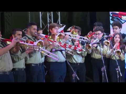 SANABEL AL MAHABE , White Christmas Demo /  استعراض كشاف سنابل المحبة