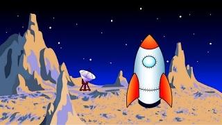 Навчальні мультфільми для дітей від 12 місяців про космос. Вчимося читати по складах складах. Склад