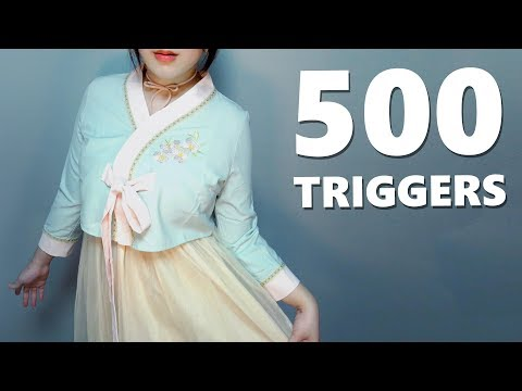 ASMR Ultimate 500 Triggers 🌟