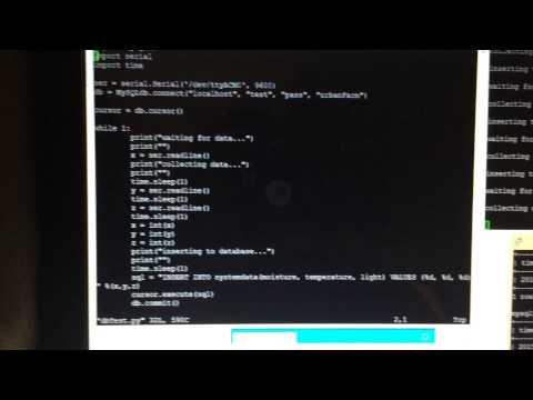 ARDUINO client send data to Server (Use MySQL)   FunnyDog TV