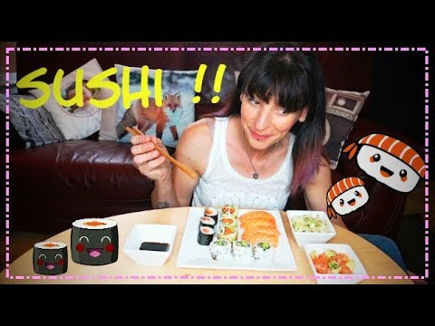 mukbang j 39 ai la dalle sushi youtube. Black Bedroom Furniture Sets. Home Design Ideas