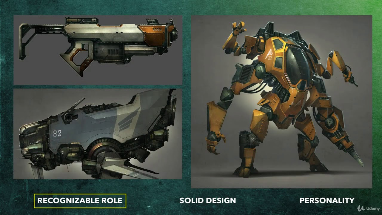 Painting Machines Concept Art Vehicles Robots Weapons Overview