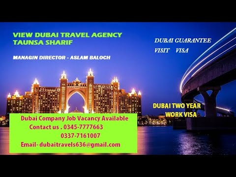 Dubai International Travels & Tours  AMAZNIG Burj Al Arab Helipad Skydive 360p