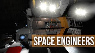Space Engineers - Building a Battleship  (Modded Survival Coop) Ep 28