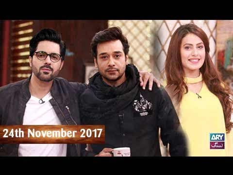 Salam Zindagi With Faysal Qureshi  - 24th November 2017 - Ary Zindagi