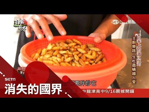 舌尖上的湄公河!越南料理必備魚露 生吃蟲蛹鴨仔蛋成補身聖品!|李天怡主持|【消失的國界完整版】20170917|三立新聞台