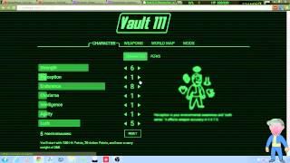 Fallout 4 Stats/Perks Calculator