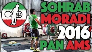 Sohrab Moradi (94kg, Iran) - June 8th & 9th Training @ 2016 Pan Ams