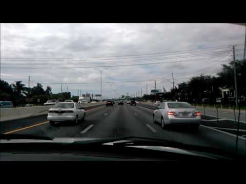 Driving on U.S.  Route 19 N (Clearwater, FL to Palm Harbor, FL)
