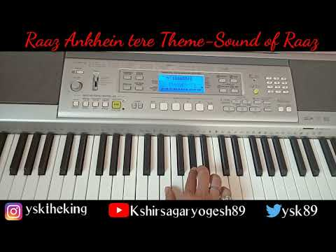 Raaz Ankhein Tere- Sound of Raaz -Piano Cover