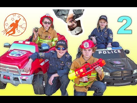 Little Heroes Rescue Squad 2 - Loafer, The Kid Fire Fighters and The Chef