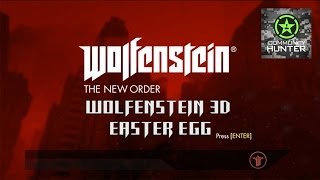 Wolfenstein: The New Order - Wolfenstein 3D Easter Egg
