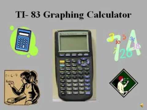 Ti Ti 83 Calculator How To Use