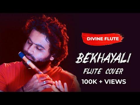 bekhayali-:-kabir-singh-|-flute-cover-by-divine-flute-karan-thakkar-|-instrumental