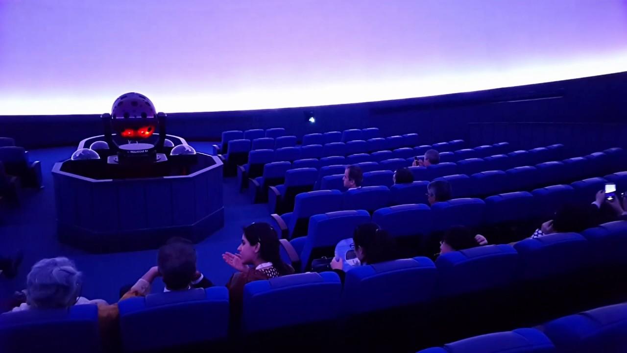 Inside The Planetarium Of Sharjah Space Center 23022017