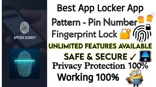 Best App Lock | Best App Lock with Fingerprint | App Lock screenshot 5