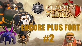 CLASH OF CLANS ~ ENCORE PLUS FORT #2 MOLOSSE BALONS MINIONS