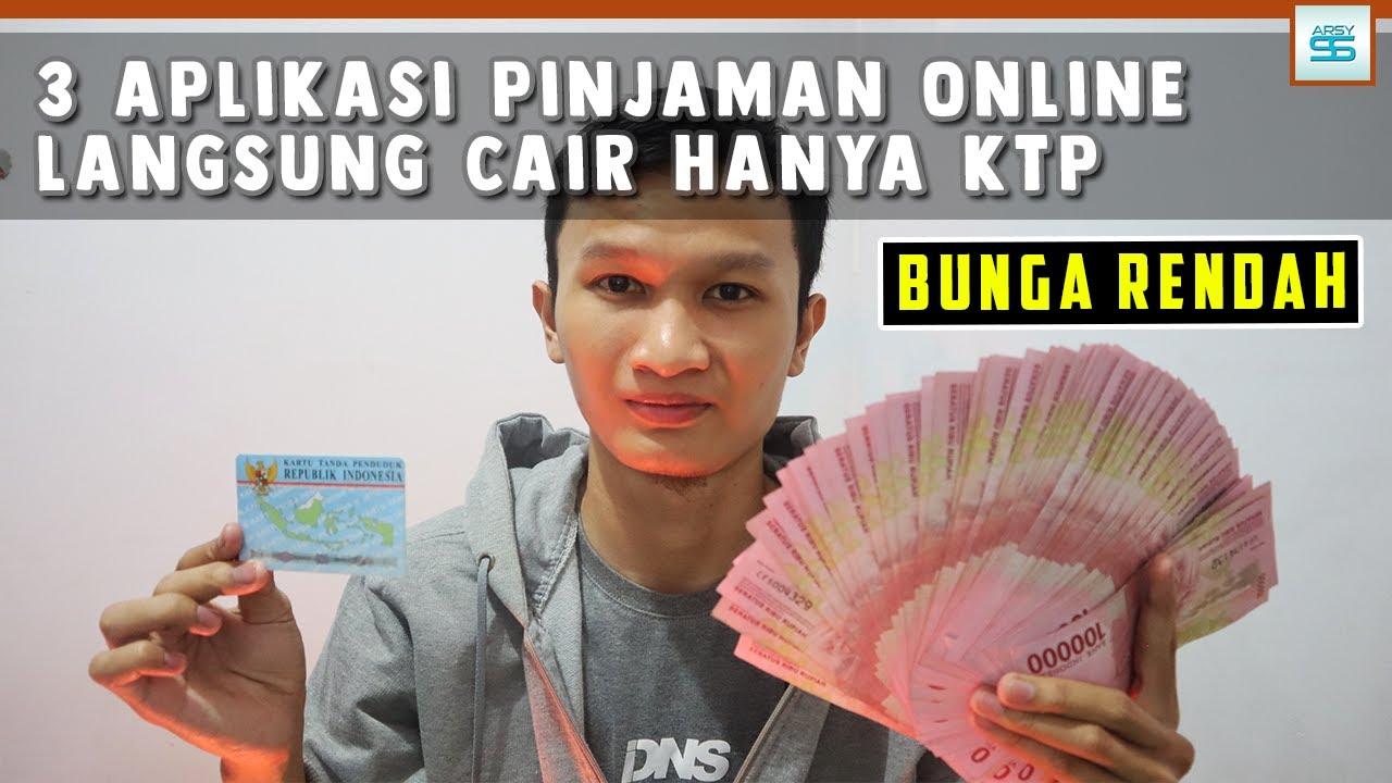 3 Aplikasi Pinjaman Online Langsung Cair Hanya Ktp Bunga Rendah
