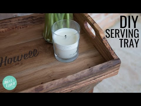 Make This Serving Tray // DIY Woodworking