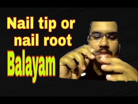 Proper technique of balayam yoga the nail rubbing exercise for hair regrowth.