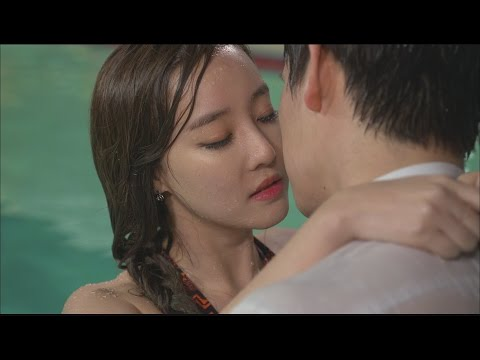 Flower of the Queen 여왕의 꽃  yun Park&Go URi, swimming pool  date!  윤박&고우리,수영장 데이트 20150524