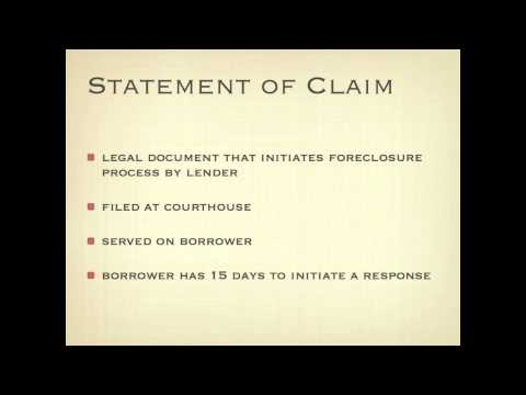 Foreclosure in Alberta - A Legal Perspective